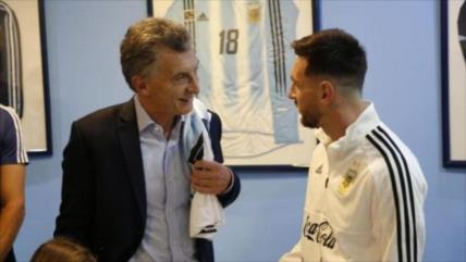 Justicia investiga si Messi fue espiado por Gobierno de Macri