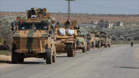 Rusia informa del masivo envío de equipos bélicos turcos a Siria