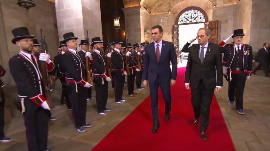 Sánchez y Torra presidirán la primera mesa de negociación | HISPANTV
