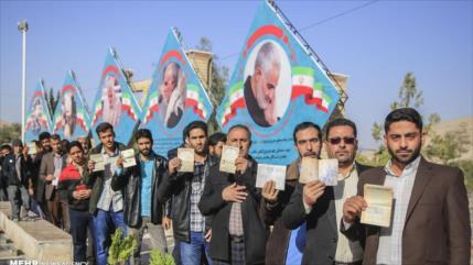 Eco mundial de elecciones: Iraníes apoyan a su país ante presiones