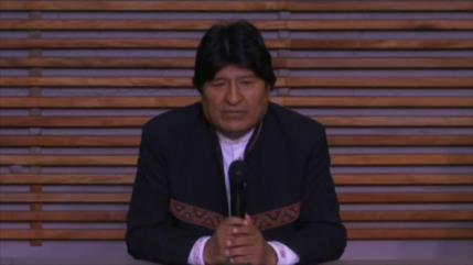 Morales: Inhabilitaron mi candidatura al Senado por orden de EEUU