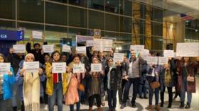 Estados Unidos sigue sus actos racistas contra estudiantes iraníes