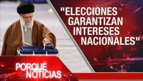 El Porqué de las Noticias: Elecciones en Irán. Yemen ataca Aramco. Bolivia inhabilita la candidatura de Morales