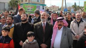 Cientos de jordanos protestan contra plan anti-Palestina de EEUU