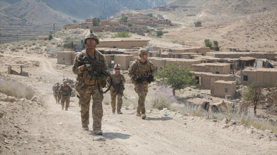 Tropas estadounidenses avistadas en una aldea en el este de Afganistán.