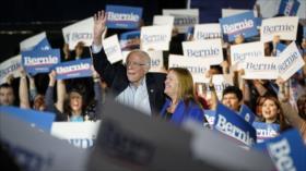 Sanders logra otra gran victoria y se perfila como rival de Trump