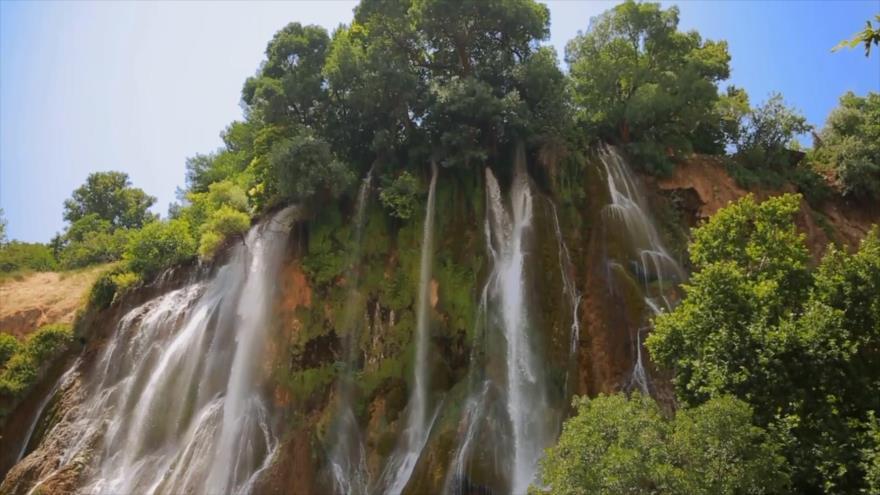 Irán: 1- Las cascadas en Lorestán, Bisheh y Nojian 2- Atracciones de Sarab