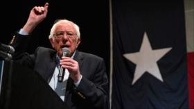 Sanders a Trump: La gente se cansa de un presidente que miente