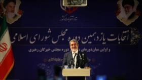Irán anuncia el fin del conteo de votos de elecciones legislativas