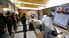 Tumba de Al-Muhandis se convierte en un imán para iraquíes