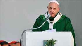 """Papa: Plan de EEUU para Palestina es """"preludio de nuevas crisis"""""""