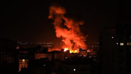 Nueva agresión: Israel bombardea varios puntos en Franja de Gaza