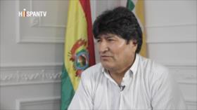Morales denuncia que sufrió golpe por hacer otra Bolivia sin EEUU
