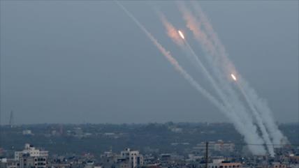 Vídeo: Palestinos se vengan de ataque israelí con ráfaga de misiles
