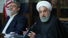 Rohani: Enemigos buscan atemorizar a sociedad iraní con COVID-19
