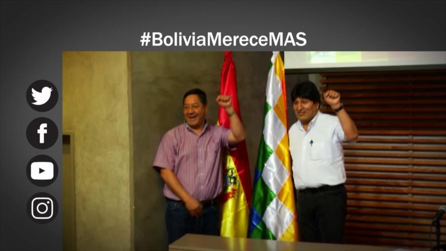 Etiquetaje: Encuesta; Partido de Morales lidera intención de voto en Bolivia