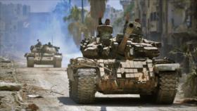 Avance relámpago; Siria retoma clave feudo terrorista en Idlib
