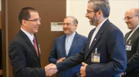 Irán y Venezuela fortalecen relaciones ante sanciones de EEUU