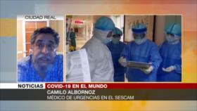 Médico español explica las características del nuevo coronavirus