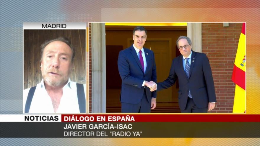 García-Isac: Sánchez pone en juego la unidad de España