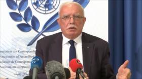 Palestina pide sanciones europeas contra expansionismo israelí