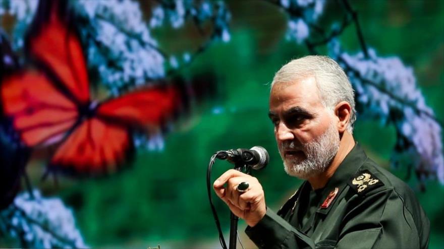 El destacado estratega iraní, el teniente general Qasem Soleimani, asesinado el 3 de enero por EE.UU. en Irak.
