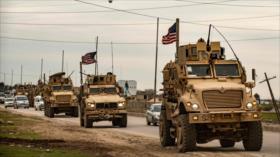 EEUU traslada otro convoy militar a zonas petroleras de Siria