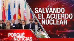 """El Porqué de las Noticias: Salvar acuerdo nuclear. Asentamientos """"ilegales"""" israelíes. Desafío catalán"""