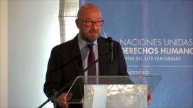 """La ONU alerta sobre violencia """"endémica"""" en Colombia"""