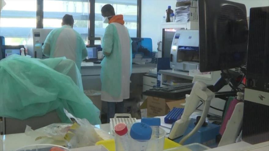 Una persona en estado de gravedad por coronavirus en España