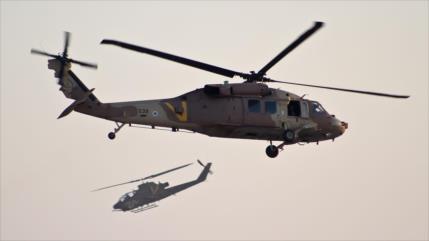 Helicópteros israelíes atacan blancos del Ejército sirio en Golán