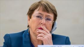 Bachelet preocupada por persecución a exautoridades de Morales