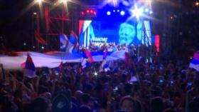 Uruguay: Miles se despiden del presidente Tabaré Vázquez