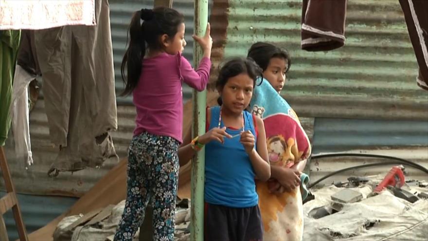 Uno cada dos niños en Guatemala padece desnutrición