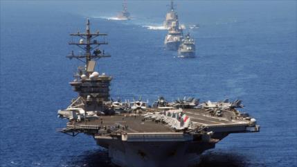 Un portaviones de EEUU entra en Mediterráneo ante presencia rusa