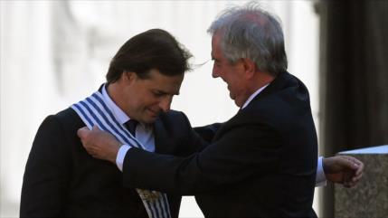 Luis Lacalle Pou asume la presidencia de la República en Uruguay