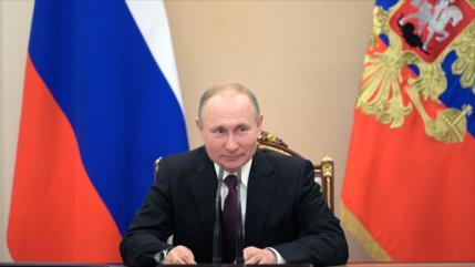 Putin señala que armas hipersónicas harán que nadie ataque a Rusia