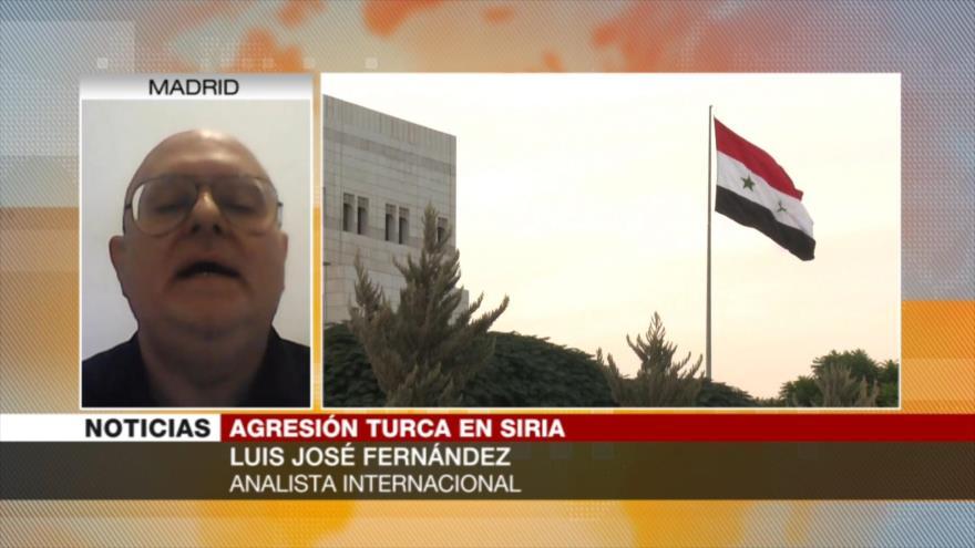 Fernández: Lucha de Siria contra invasores turcos es legítima