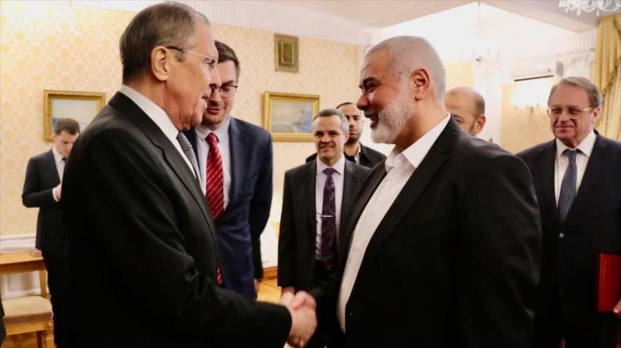 """HAMAS alaba """"visión crítica"""" de Rusia ante plan anti-Palestina de EEUU"""