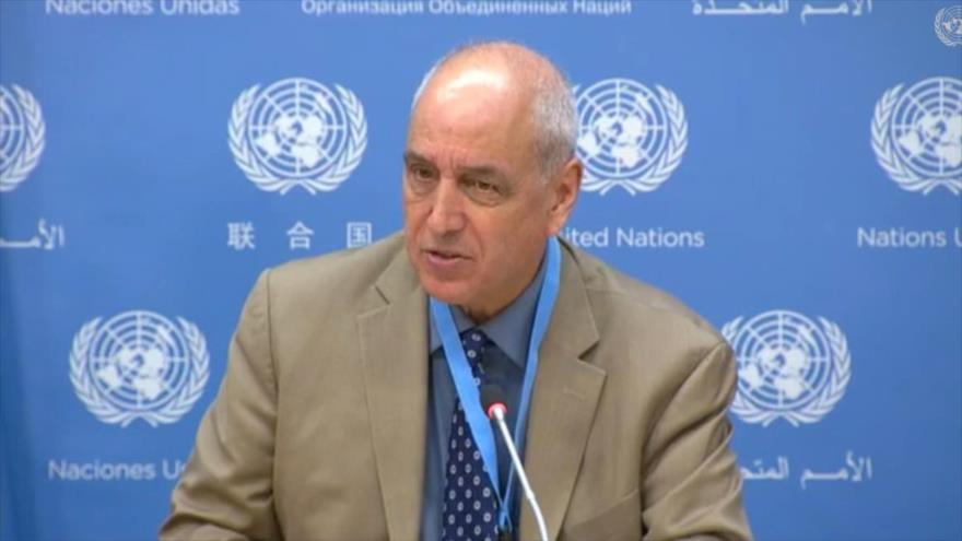 El relator especial de la Organización de las Naciones Unidas (ONU) sobre los Derechos Humanos en Palestina, Michael Lynk.
