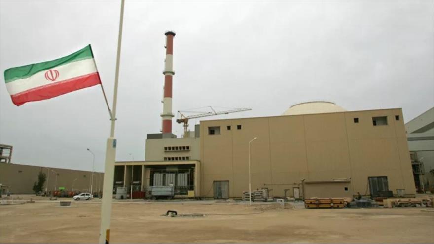 Central nuclear de Bushehr, suroeste de Irán.