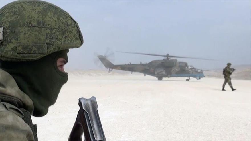 Vídeo: Tropas rusas entran en Saraqib para contener a Turquía   HISPANTV