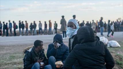 Rusia: Turquía empuja a 130 000 refugiados hacia Europa