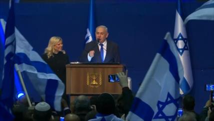 Palestinos reaccionan a la victoria de Netanyahu en las elecciones