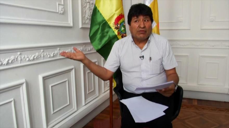 Morales teme otro golpe de Estado si su partido gana las elecciones