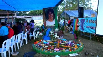 Rinden homenaje a Berta Cáceres en 4.º aniversario de su asesinato