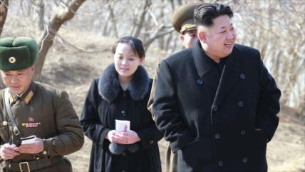 "Hermana de Kim arremete contra Seúl por sus críticas ""estúpidas"""
