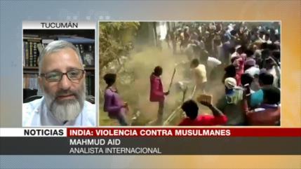 Aid: Israel está detrás de la masacre de musulmanes en La India