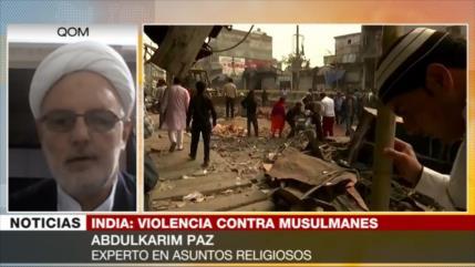 """Paz: Violencia contra minoría musulmana en La India es """"inhumana"""""""
