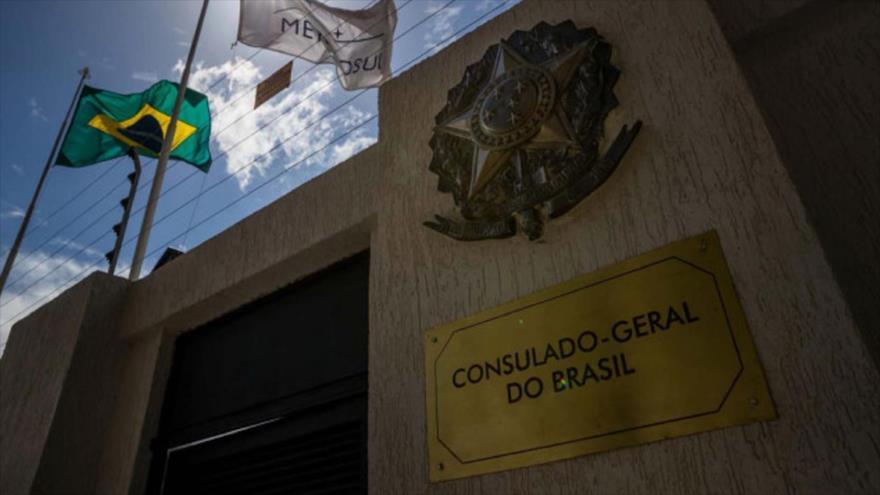 La embajada de Brasil en Venezuela.